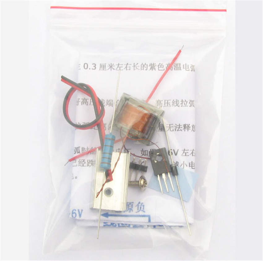 CNIKESIN diy Inverter booster high voltage generator Arc lighters module  electronic cigarette ignition coil suite