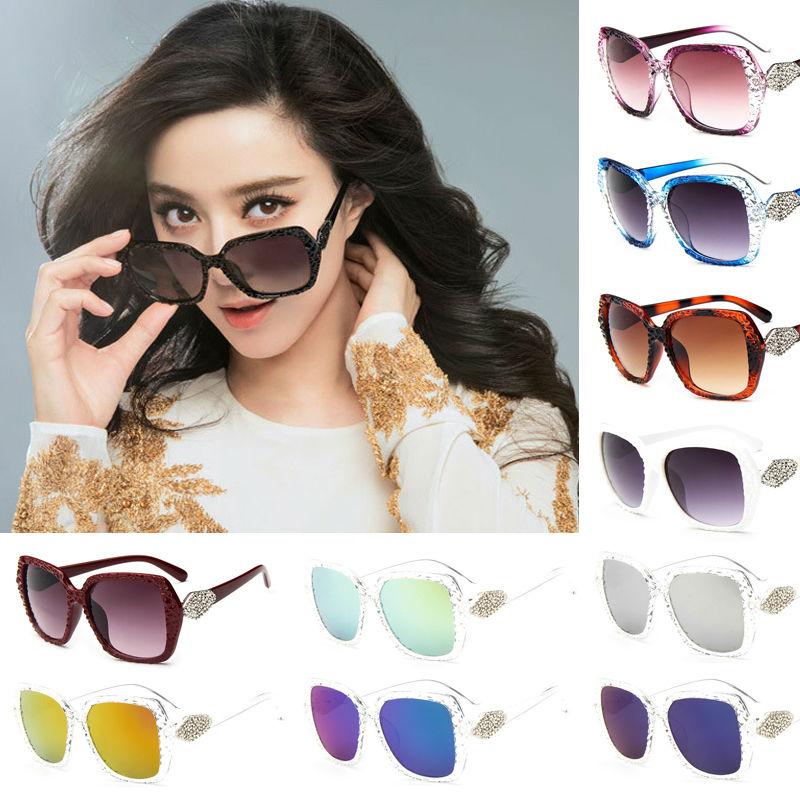 16282ea1c6cc7 ٩( ‿ )۶2017 moda Gafas de sol del ojo del gato de las mujeres Gafas ...