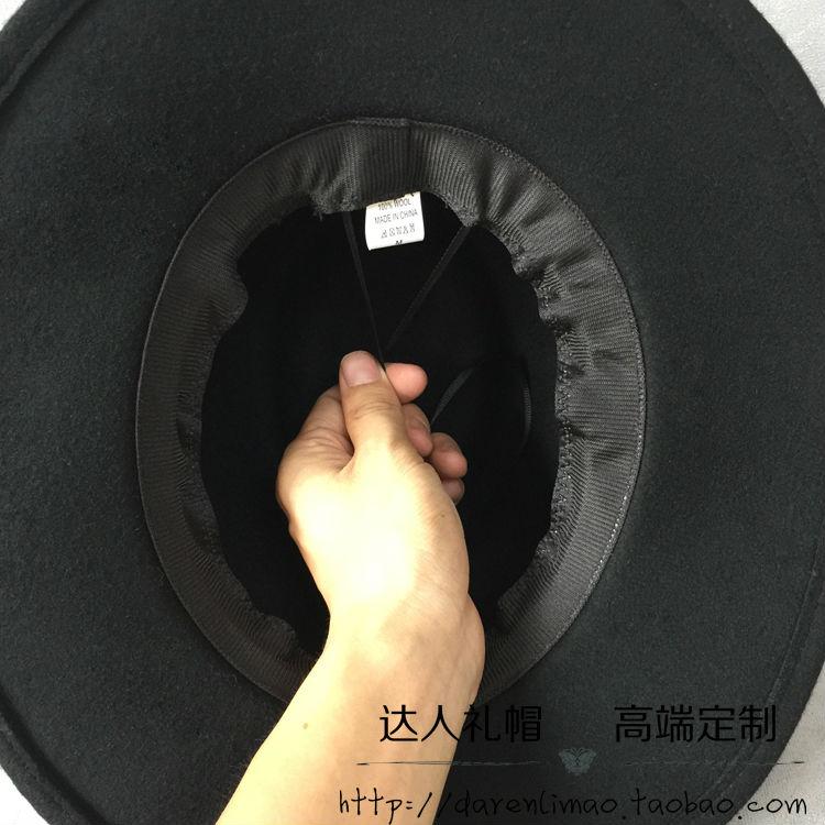 da7ae8a3a1a24 Corações vermelhos pano cap black metal duplo logotipo capô lazer saco  chapéu pequeno jazz chapéu 7 cm