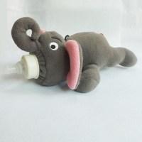 Baby Feeding Bottle Insulation Case Elephant Plush Toys