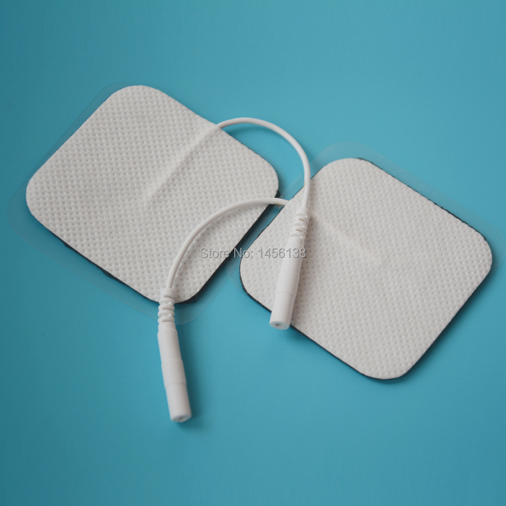 5*5cm non woven Adhesive TENS EMS massage electrode pad ...