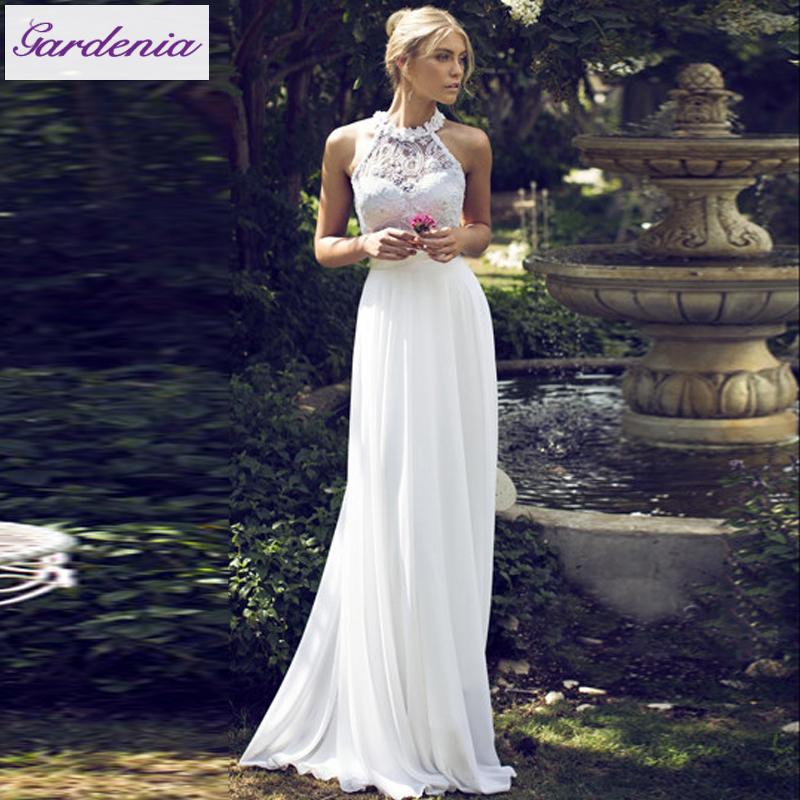 Elegant Lace Bridal Gowns Vestido De Casamento Flower