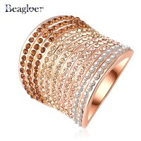 Beagloer Christmas Gradient Austrian Crystal Engagement ...