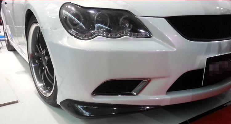 ᗛhigh Quality All Carbon Fiber Sports Car Front Diffuser Bumper