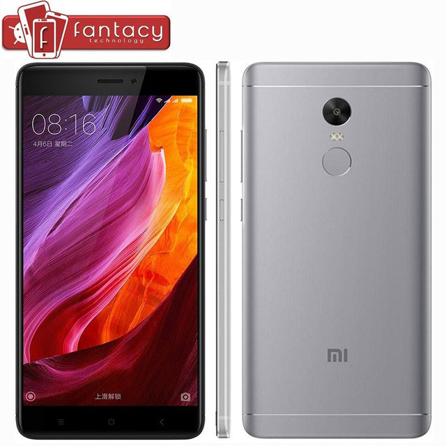 "Original Global Version Xiaomi Redmi Note 4 Snapdragon 625 Mobile Phone 5.5"" FHD 3G RAM 32G ROM 13MP Fingerprint ID MIUI 8.1 CE"