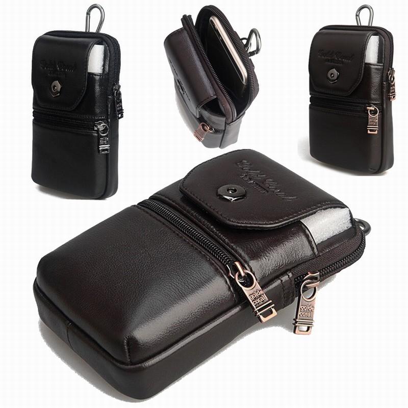 עור אמיתי לשאת תפס חגורה נרתיק מותן הארנק Case כיסוי עבור Blackview BV5000 4G עמיד למים טלפון חכם חינם זרוק משלוח
