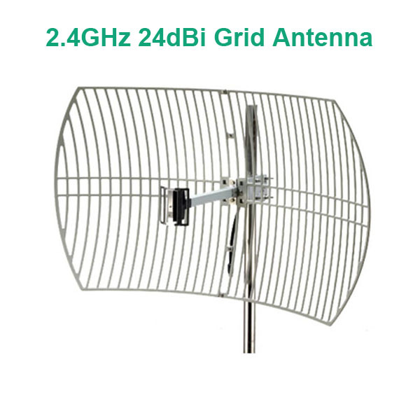24dBi 2.4GHz Wireless Wifi Grid Antenna Parabolic Antenna