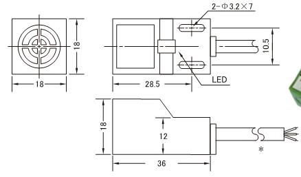 ヾ(^ ^)ノInductive Proximity Sensor,SN04-N,NPN,3-wire NO,6