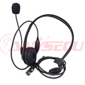 2 pcs MIC DB06 K1 OEM Original Walkie Talkie Wired Headset