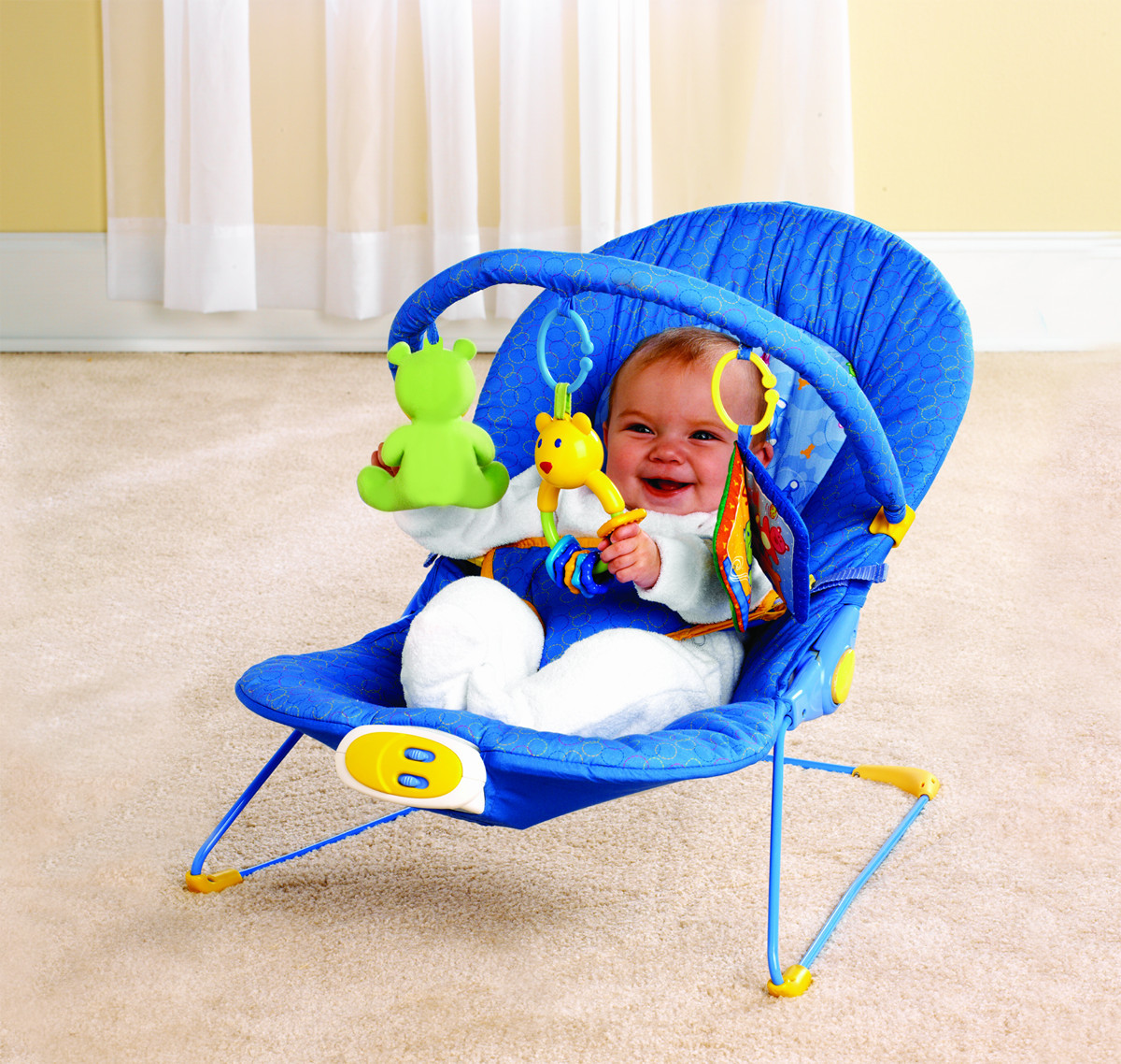 Multifunctional baby rocking chairinBouncersJumpers