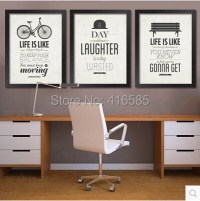 Framed office Inspirational Modern Decoration Painting ...