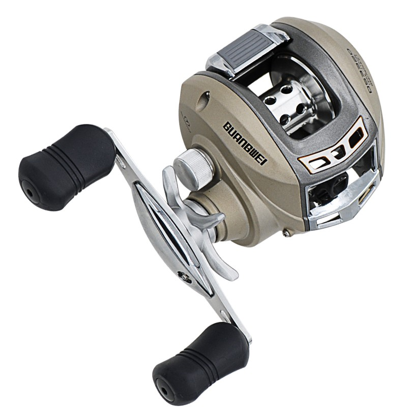 ▽Baitcasting Pesca carrete 220g 7bb 6.2  1 derecha mano izquierda ... 817794272f9