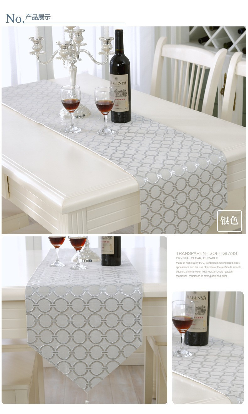 Lot de 4/pinces /à nappe Transparent Table support de plafond pour nappe Pinces