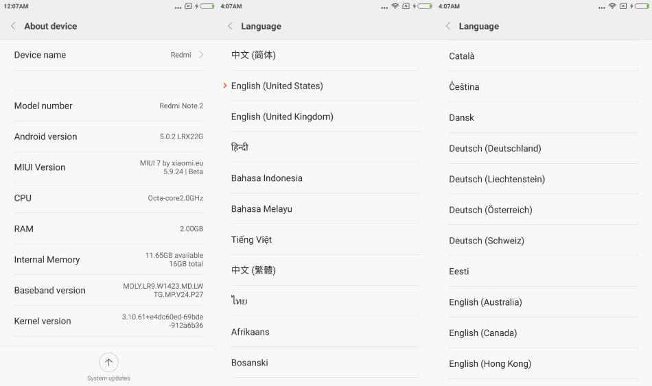Best Original Xiaomi Redmi Note 2 TD TDD Mobile Phone Octa
