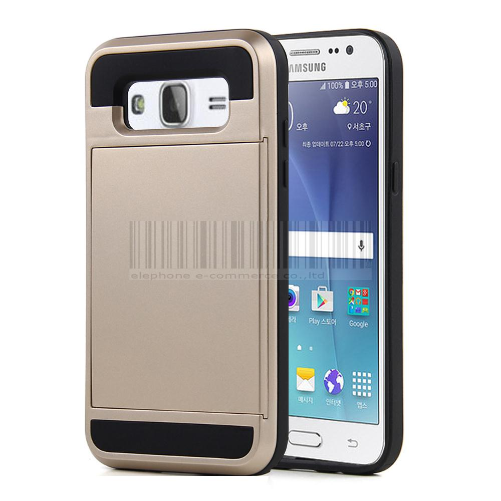Phone Case For Samsung Galaxy J5 J500 J500f Shockproof Pc Silicone