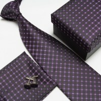 neck tie set neckties cufflinks hanky high quality ties ...