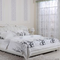 Home Textile Modern Brief Black And White Comforter Sets ...