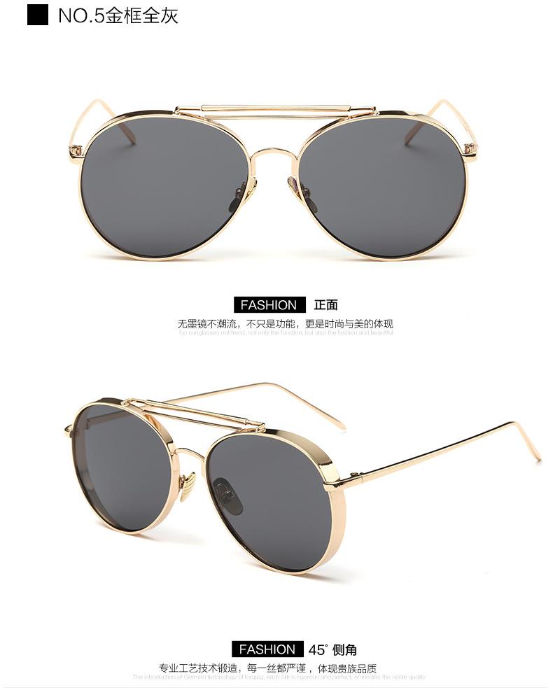 Moda marca diseño vintage Steampunk mujeres Gafas de sol recubrimiento  nuevo Sol gafas hombres círculo Sol gafas gótico retro gafas afd1396c3e3a
