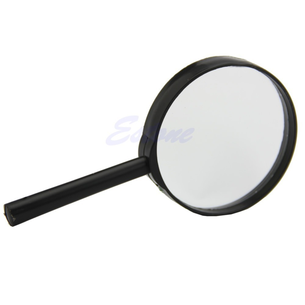 5x 75mm Hand Held Reading Magnifier Magnifying Glass Lens Booster Pump With Pressure Switchbooster Switch Getsubject Aeproduct