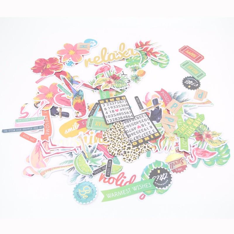 Pk 2 Floral Dreams Chatons Embellissement topper pour cartes