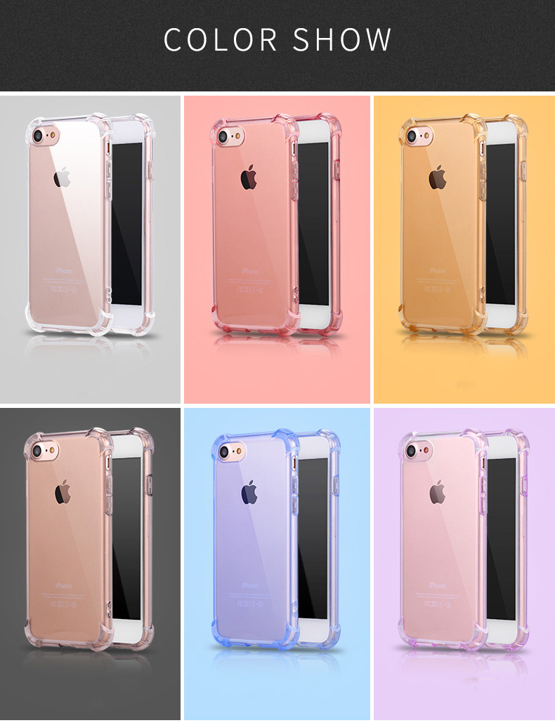 ⓪Knockproof Ultrathin Transpare Silicone Mobile Wrap Back Cover ...