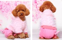 Fashion Cute Dog Clothes Winter 5 Size Costume For Dogs ...