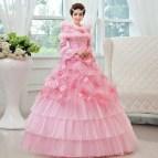 Pink Winter Wedding Dresses