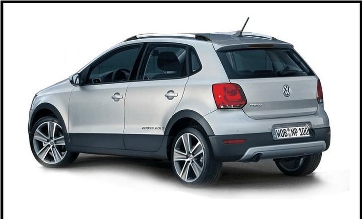 For VW VOLKSWAGEN POLO roof rack rails bars exterior 2pcs