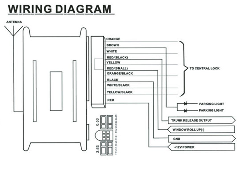 Keyless Entry System Wiring Diagram Likewise Door, Keyless