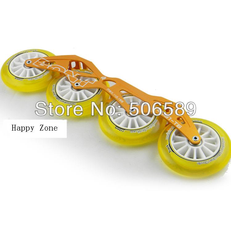 Φ_ΦVelocidad libre del envío patina las ruedas y Marcos 165mm 195mm ...