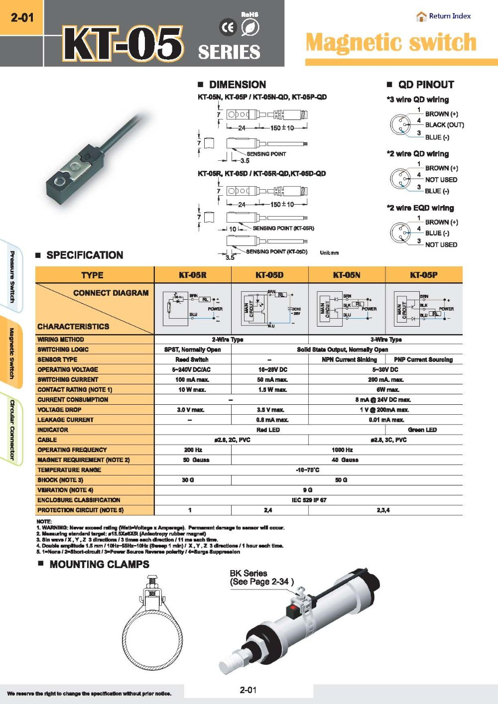 Kita Kt 08r Sensor Reed Switch Long Wire Ac Dc 5 Wiring Diagram Aeproductgetsubject