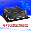 H 264 GPS Hard Disk Mobile Dvr 12V D1 Black Box Monitoring Equipment G Sensor I