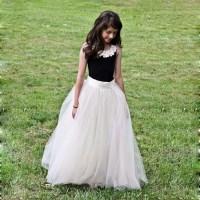 Junior Bridesmaid Dresses Black and White Reviews - Online ...