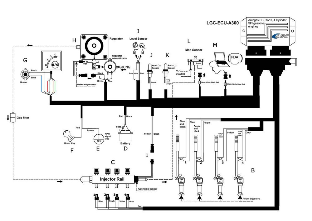 Switch Wiring Diagram Also Propane Fuel Injection System