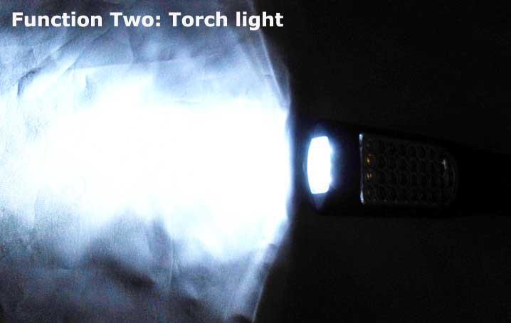 A-G001 s//n DEL rechargeable 2 W Travail Torche Li-Ion Sans Fil Inspection Lampe
