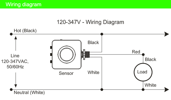 Infrared Motion Sensor Wiring Diagram