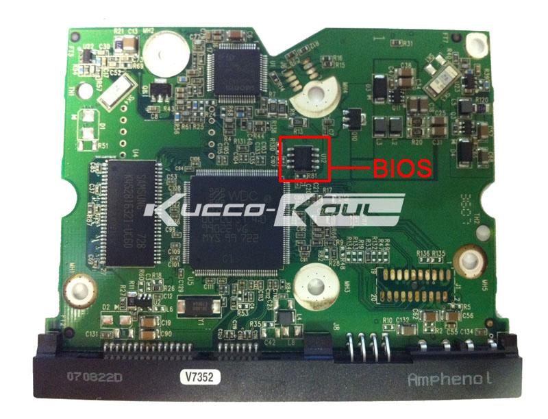 ᗕHDD PCB placa de circuito 2060-701453-000 rev a para Wd 3.5 SATA ...