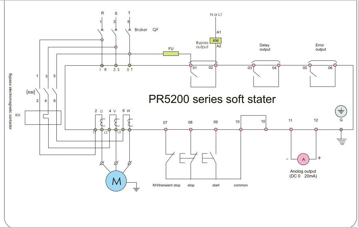 frequency drive wiring diagram for the glands in neck and throat pr5200-- motor soft starter / three phase starter(id:7878856) product details - view pr5200 ...