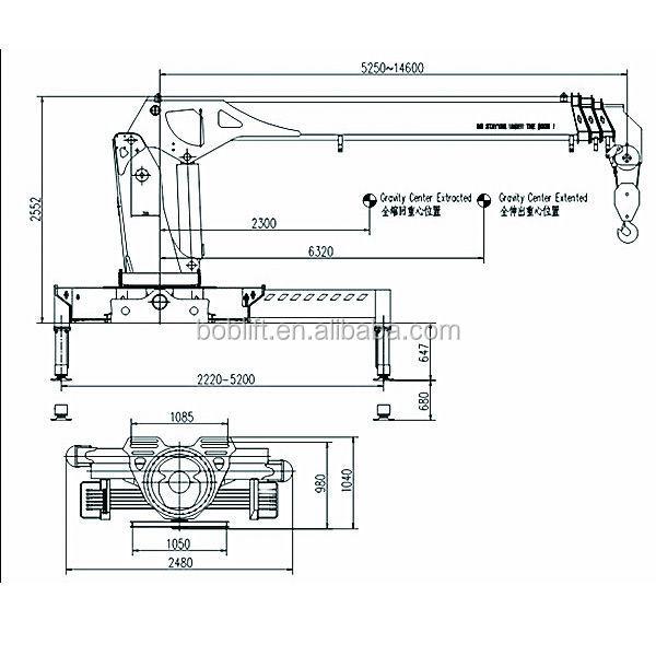 Prix de Rc Construction Grue Hydraulique À Vendre-Autres