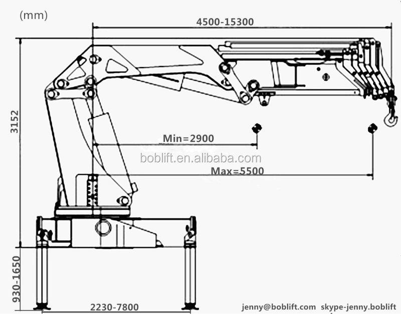 Truck Crane: Truck Crane Drawing