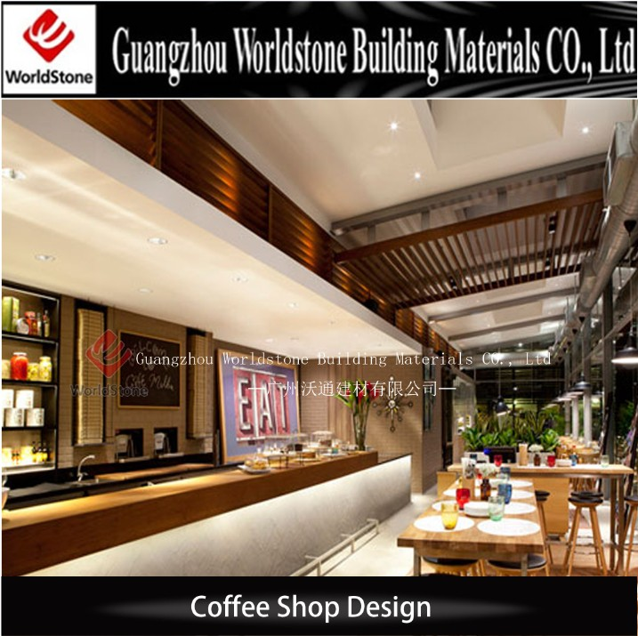 Custommade Cafe Shop Cashier Counter Table Design  Buy