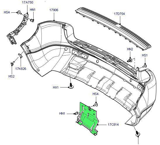 Dqx500020 New Bracket-rear Bumper Mounting,Top Quality