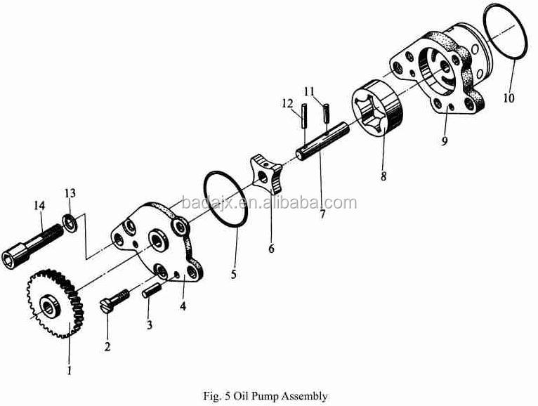 Jinma Tractor Ty295 Diesel Engine Parts & Jinma Tractor