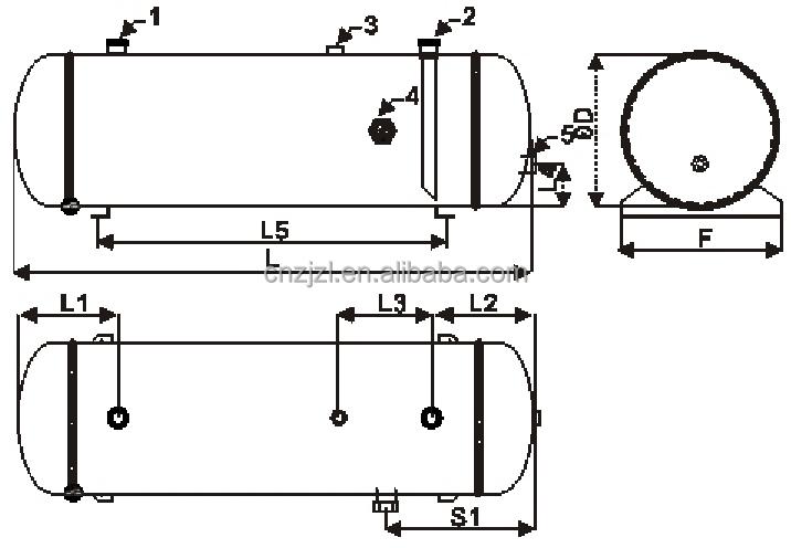 Resour Horizontal Liquid Reservoir With Rack,Liquid