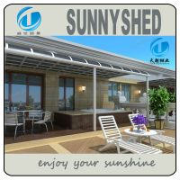 Aluminum Frame Patio Cover With Polycarbonate Sheet - Buy ...