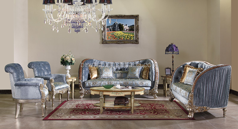 Great British Retro Royal Furniture Living Room Gold