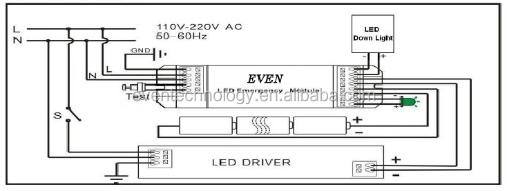 Non Maintained Emergency Lighting Wiring Diagram, Non, Get