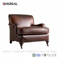 Orizeal Luxury Leather Sofa Chair,Single Leather Sofa ...