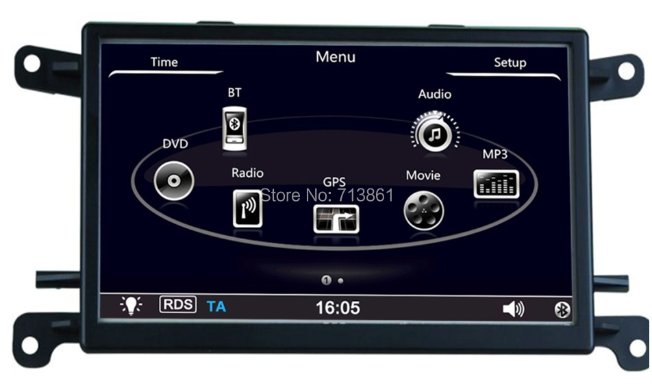 13a5eb1a99d8 ᗑ7 дюймов Android 4.4 автомобиль GPS навигации Подходит для Audi A5 ...