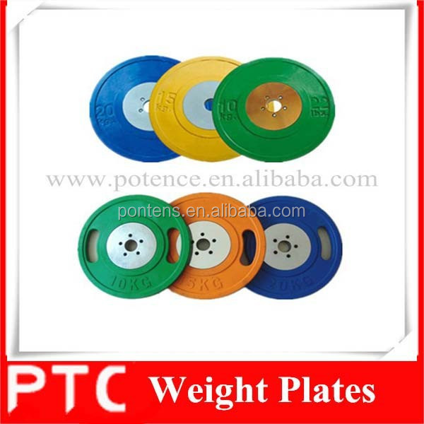 olympic solid rubber bumper weight plates lifting